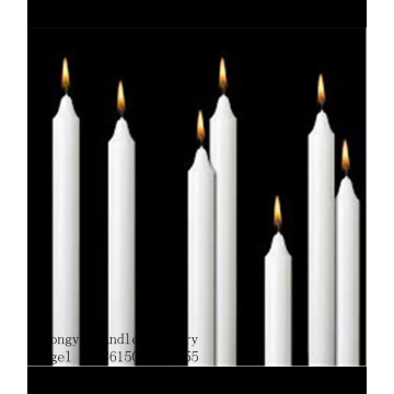 Bright white candle paraffin vax mateiral gör