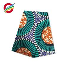 Le meilleur prix cire africaine imprime le tissu vrai textile à vendre