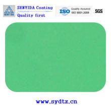Peinture en poudre de bleu vert