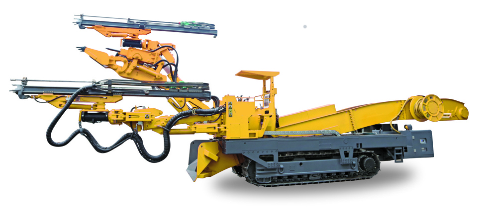 Mobile Mine Drilling Rig