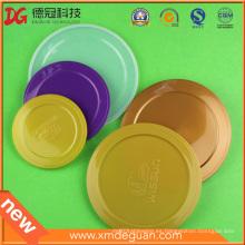 300 # / 307 # / 401 # / 502 # Lata de metal lata cubierta plástica