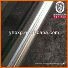 axe d'acier inoxydable brillant tige 630