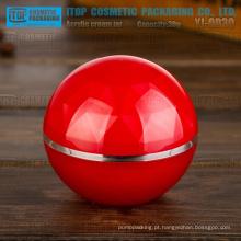 YJ-OD30 30g especial recomendado alta qualidade alta camadas claras duplo 1oz vermelha acrílico jar