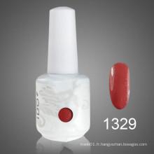 Vernis à l'ongle Gel UV Estampage de différentes couleurs avec du matériel inoffensif