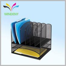 Conjunto de papelería de oficina Conjunto de escritorio de malla con 5 secciones verticales