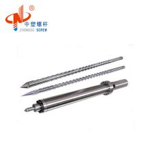 customized screw barrel for plastic injection machine