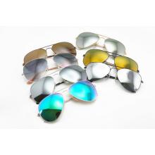 Lunettes de soleil classiques / Lunettes de soleil / Lunettes de soleil en métal Colorées