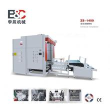 Automatic paper rolling-over and collecting machine