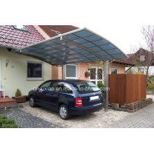 Luxuriöser Auftritt Carport in Aluminiumstruktur