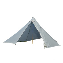 Dream House Waterproof Canvas Camping Indian Teepee Tent for 4 Person 320X160cm