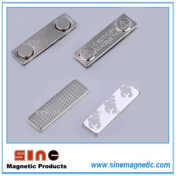 Металлический магнитный тег имени / магнитный держатель имени