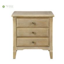 Light Walnut Bedroom Furniture Wood Night Stand
