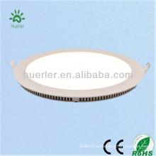 Producto principal del surtidor de China 4w / 6w / 9w / 12w / 15w / 18w redondo / forma cuadrada luz de techo redonda llevada