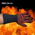 Hitzebeständiges 932F Schnitt-beständiges Silikon-heiße Oberflächen-Handler BBQ-Backen-Handschuhe
