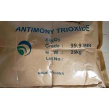 Factory Price Antimony Trioxide 99% Min Flame Retardant