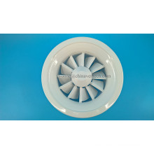 Adjustable Blades Swirl Diffuser Iron Sheet Round Air Diffuser