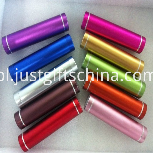 Promotional Cylindrical Power Bank 2000mAh_1