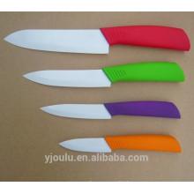 OL009E 4pcs Knife Ceramic With Soft Handle