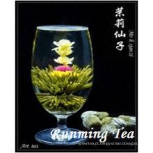 Mo Li Xian Zhi (o chá de florescência branco feericamente do jasmim, RMT-BMW036) PADRÃO DA UE