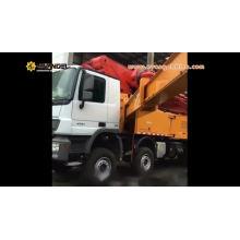 52m truck mounted concrete pump HB52