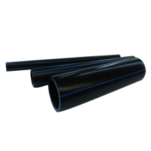 Dn 80 Mm PE Hdpe Plastic Drinking Water Pipe Tube