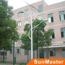 Aprobación de RoHS del CE Luz de calle solar de alta calidad de 100W