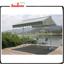 Double Sided Folding Retractable Double Sided Gazebo Awning with Stand