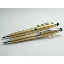 Оптовая дешевая золотая пользовательская сенсорная ручка