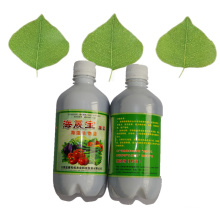 Microbial foliar organic fertilizer for health food