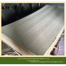 Teak Straight Line Light Line Fancy Plywood for Iraq Market