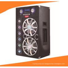 Doble altavoz profesional Bluetooth de 12 pulgadas con micrófono inalámbrico A12