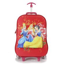 Дети школа сумку ручной клади тележка