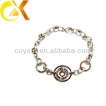 Hot selling engraved stainless steel jewelry women hand bracelets