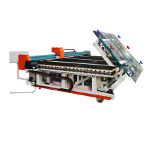 CNC Integrated glass cutting machine with loading cutting and breakout