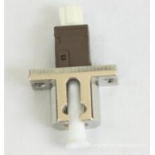 Mu-LC Simplex Metal Fiber Optical Adapter