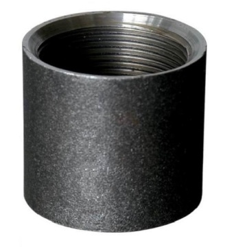 Carbon Steel Pipe Socket Schwarz