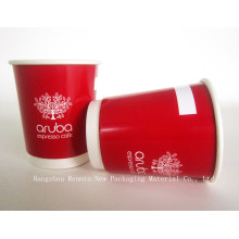 Disposable Double Wall Insulated Matt Surface Paper Cup