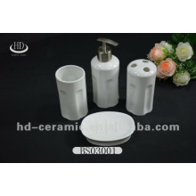 Direktverkauf 4pcs High-End 4pcs Keramik Badezimmer setzt Porzellan