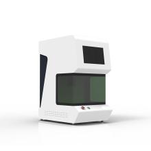 machine de marquage laser à fibre portable de dix hauteurs