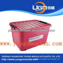 2013 Novo molde de recipiente de comida de injeção de plástico doméstico e bom preço moldagem de caixa de ferramentas de injeção