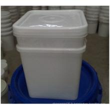 Seau carré d'emballage alimentaire en gros de pp, seau en plastique