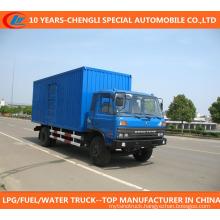 4X2 Van Truck 10t Tansport Truck for Sale