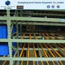 CE Storage Warehouse Carton Flow Self Slide Rack