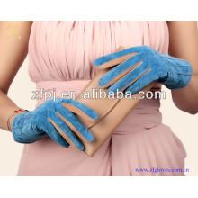 Customized Women Pigskin Suede Leather Glove
