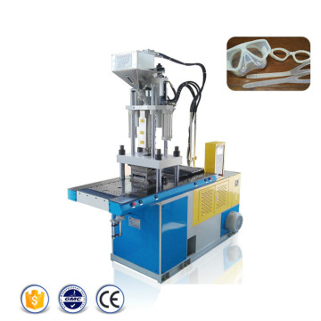 Machines verticales de moulage par injection de double curseur