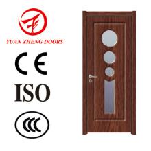 Gute Qualität PVC-Toiletten-Tür PVC-Badezimmer-Tür-Preis