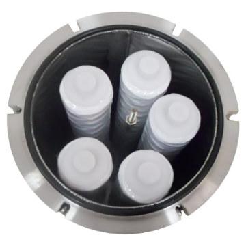 Carcaça do filtro do cartucho de Txf / recipiente para a filtração líquida
