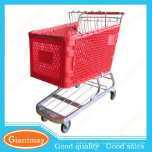 best products for import 180L plastic supermarket trolley dimensions