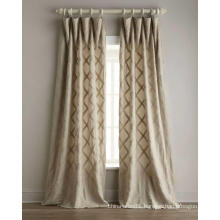 Low price new fashion  hotel window curtain design from china