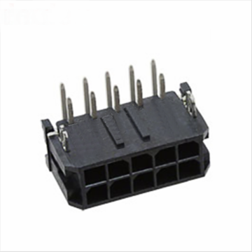 MX3.0mm 90-wafelconnector met metalen vorkgeleiders